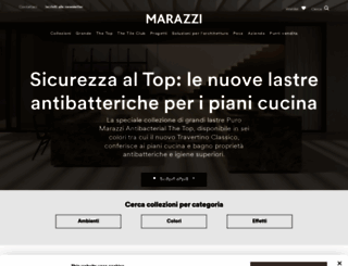 m.marazzi.it screenshot