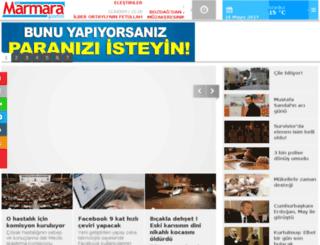 m.marmaragazetesi.com screenshot