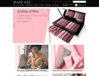 m.marykay.com screenshot