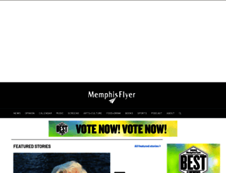m.memphisflyer.com screenshot