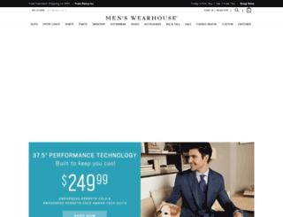 m.menswearhouse.com screenshot