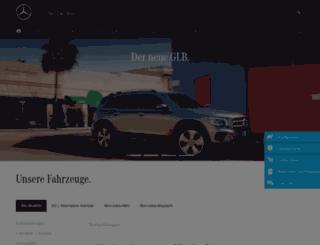 m.mercedes-benz.de screenshot