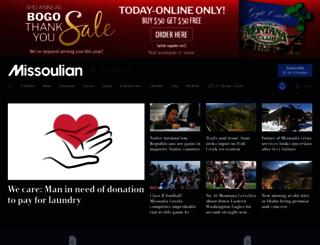 m.missoulian.com screenshot