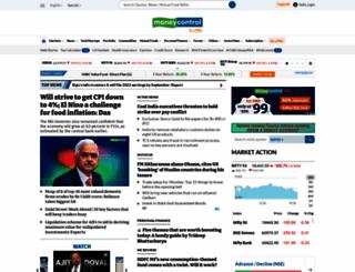 m.moneycontrol.com screenshot