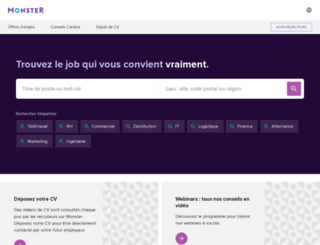 m.monster.fr screenshot