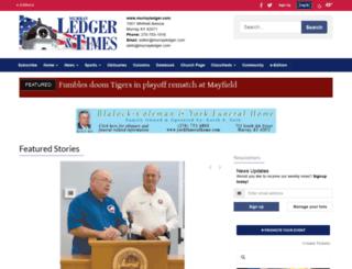 m.murrayledger.com screenshot