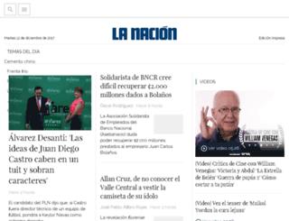 m.nacion.com screenshot