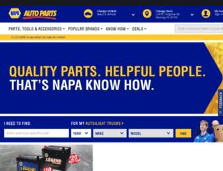 m.napaonline.com screenshot