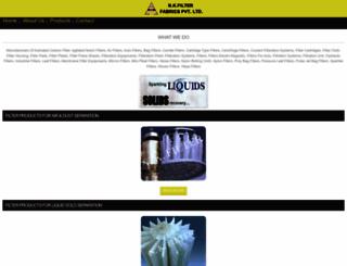 m.nkfilter.com screenshot