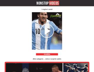 m.nonstopvideos.it screenshot
