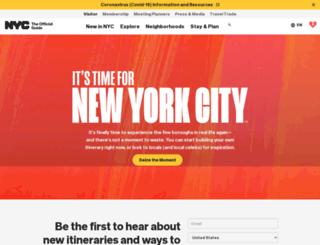 m.nycgo.com screenshot