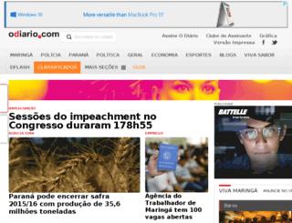 m.odiario.com screenshot