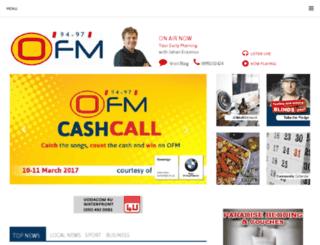 m.ofm.co.za screenshot