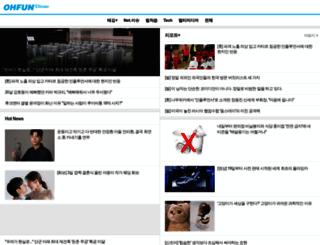 m.ohfun.net screenshot