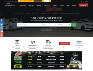 m.pakwheels.com screenshot