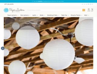 m.paperlanternstore.com screenshot