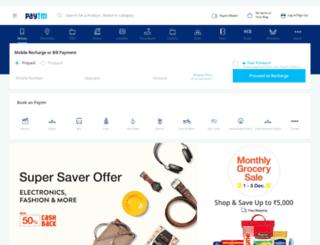 m.paytm.com screenshot