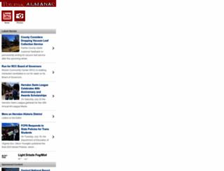 m.potomacalmanac.com screenshot