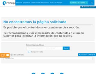 m.principal.com.mx screenshot