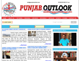 m.punjaboutlook.com screenshot