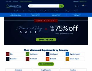 m.puritan.com screenshot