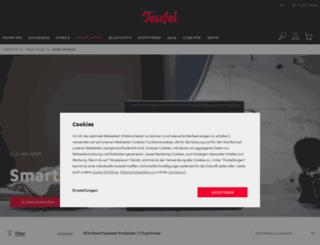 m.raumfeld.com screenshot