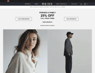 m.reiss.com screenshot