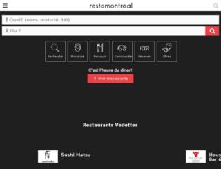 m.restomontreal.ca screenshot