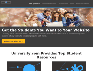 m.s.university.com screenshot