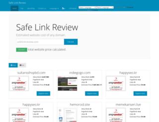 m.safelinkreview.com screenshot