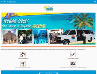 m.safetourscozumel.com screenshot