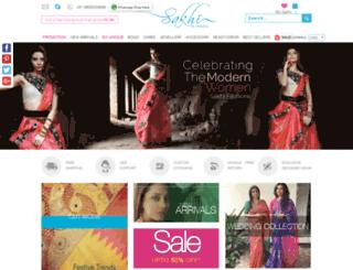 m.sakhifashions.com screenshot