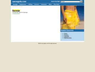 m.sarongs4u.com screenshot