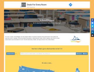 m.schooldigger.com screenshot
