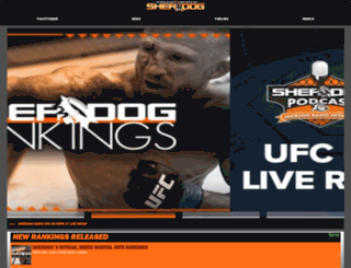 m.sherdog.com screenshot