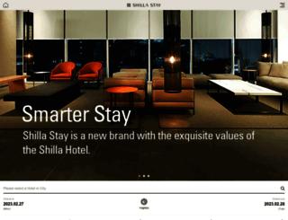 m.shillastay.com screenshot