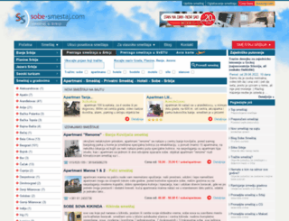 m.sobe-smestaj.com screenshot
