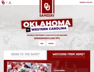 m.soonersports.com screenshot