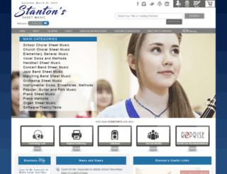 m.stantons.com screenshot