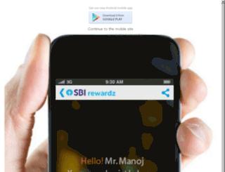 m.statebankrewardz.com screenshot
