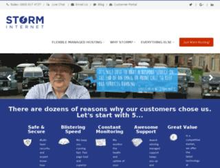 m.storminternet.co.uk screenshot