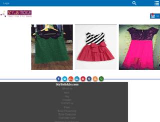 m.stylistickle.com screenshot