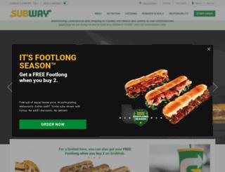 m.subway.com screenshot