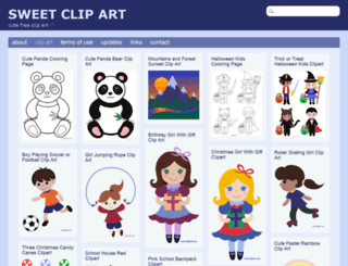 m.sweetclipart.com screenshot