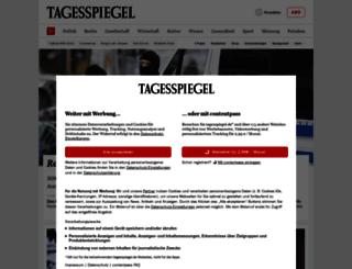 m.tagesspiegel.de screenshot