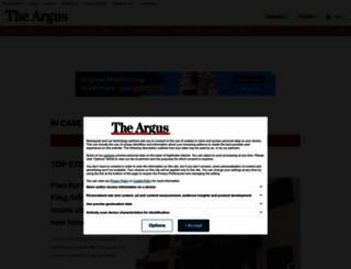 m.theargus.co.uk screenshot