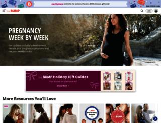 m.thebump.com screenshot