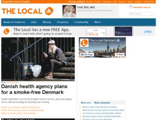 m.thelocal.dk screenshot