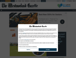 m.thewestmorlandgazette.co.uk screenshot