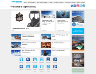 m.tignes.co.uk screenshot